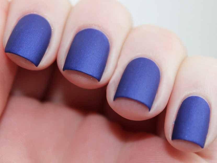 Esmalte de uñas mate, aprende a hacerlo en casa - http://www ...