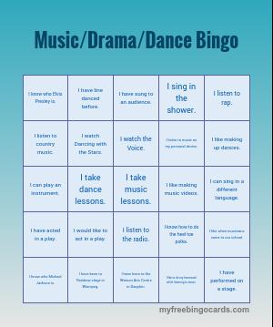 free custom bingo card generator | Education | Bingo card