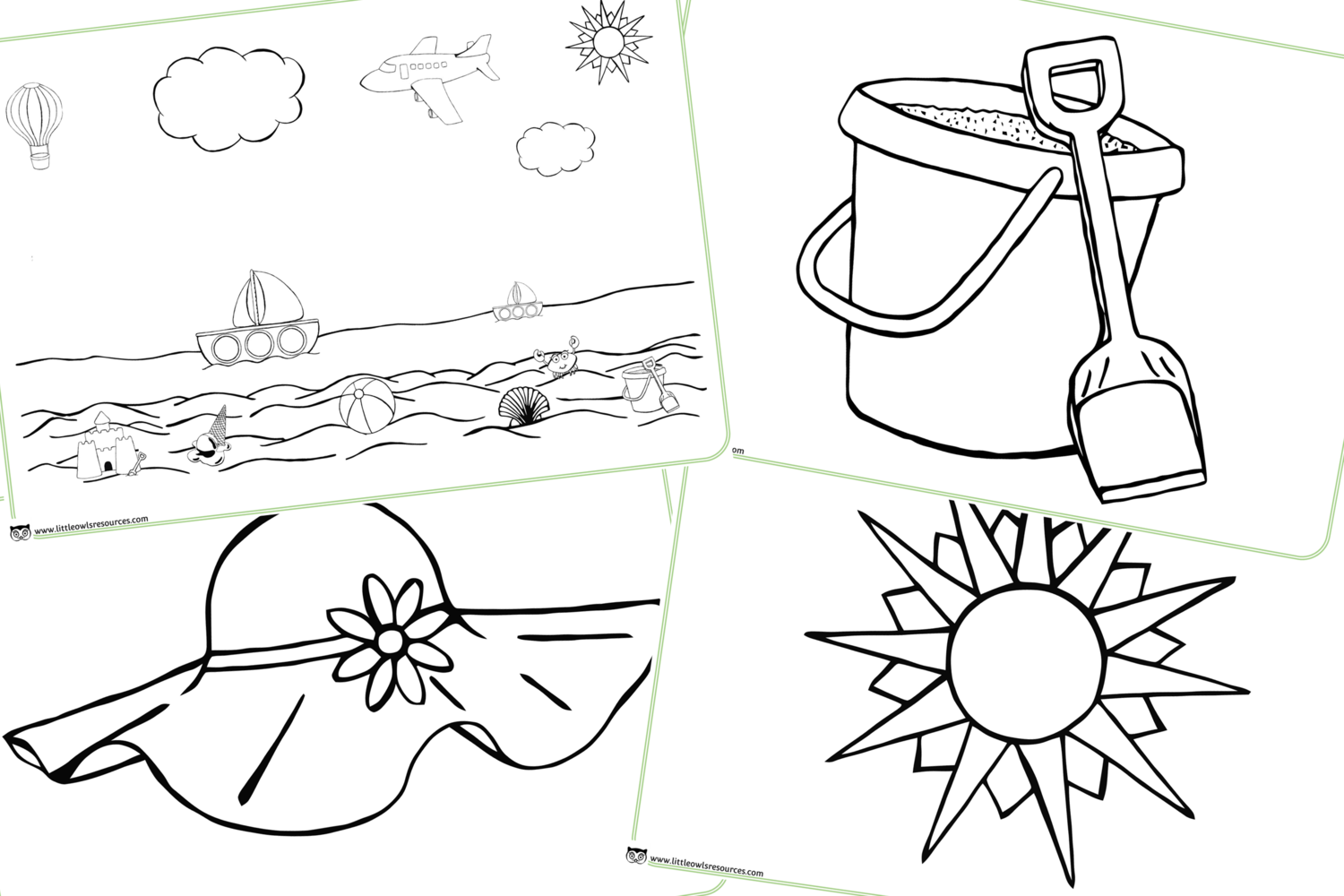 FREE Colouring - Summer Early Years (EYFS) Printable ...