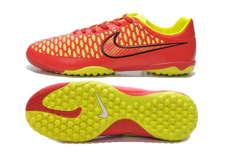 Awesome Nike Magista Onda TF Red Yellow $61.99