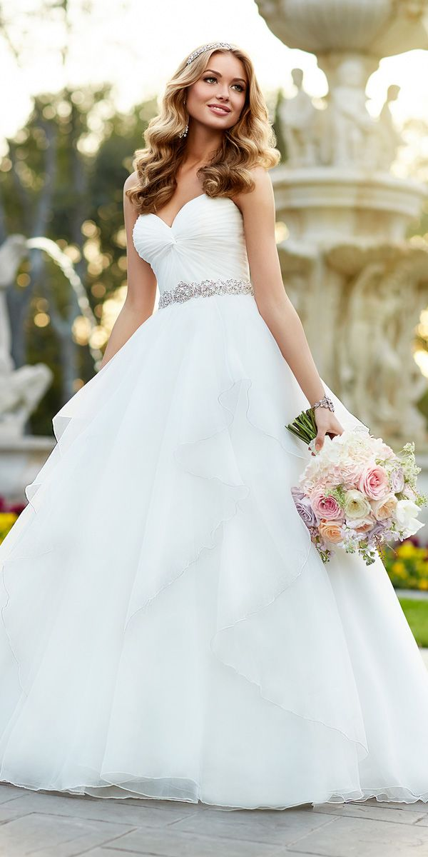 30 Ball Gown Wedding Dresses Fit For A Queen Wedding Inspiration