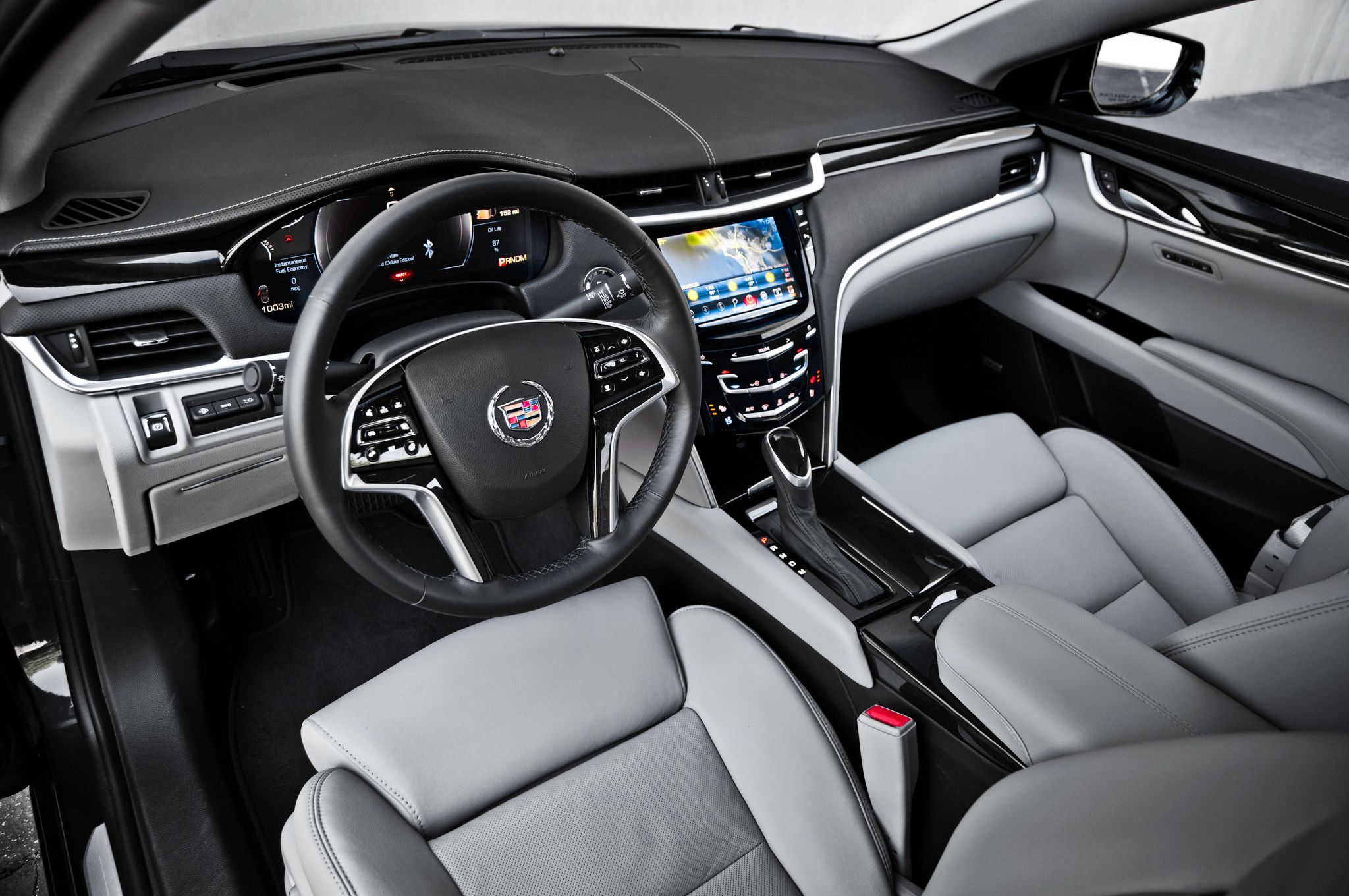 Cadillac xts limousine interior driver