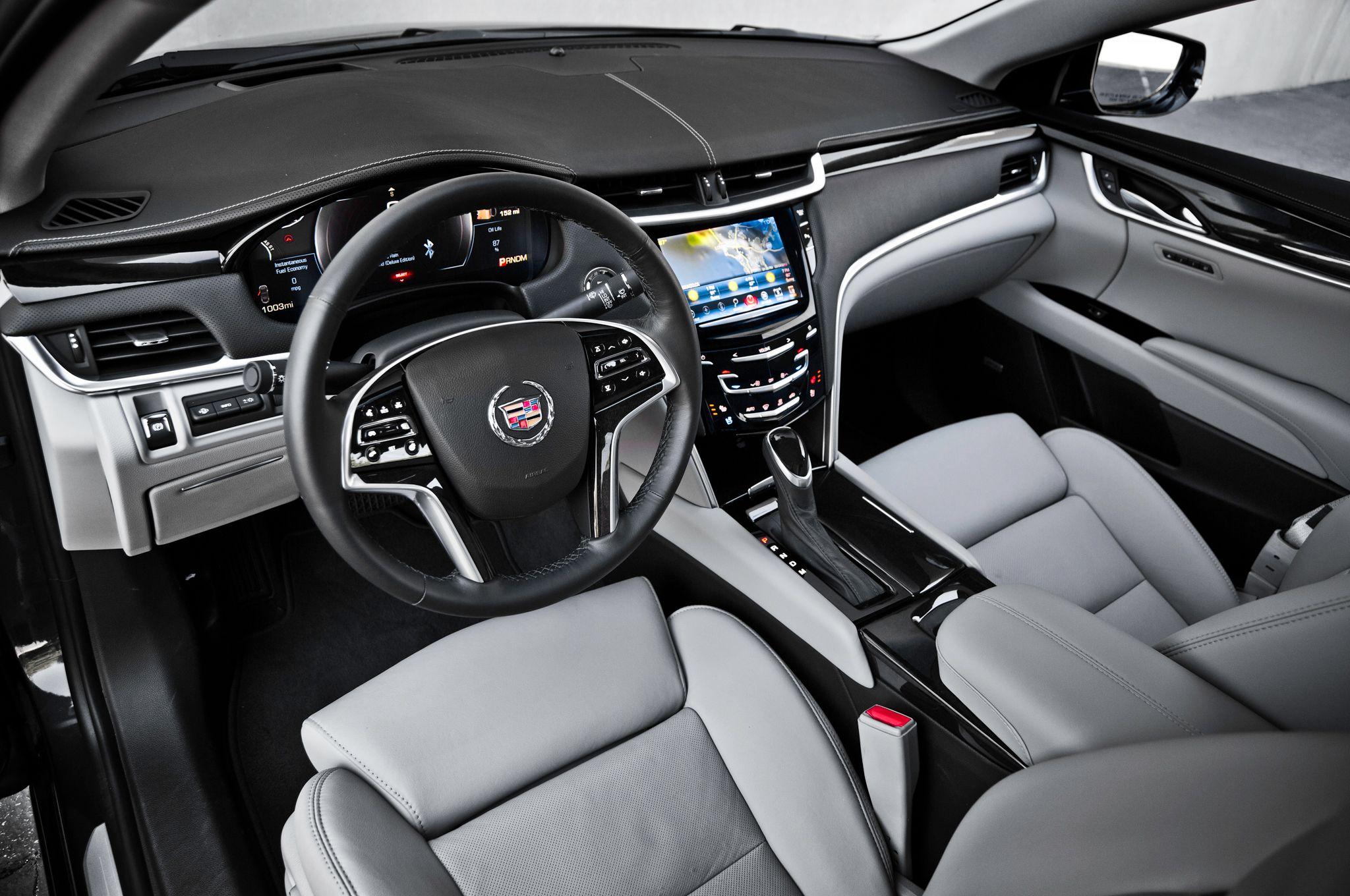 Cadillac Xts Limousine Interior Driver Driving Service