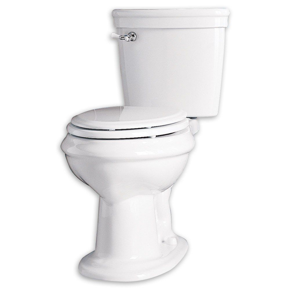 American Standard Collection Right Height Elongated Toilet ...