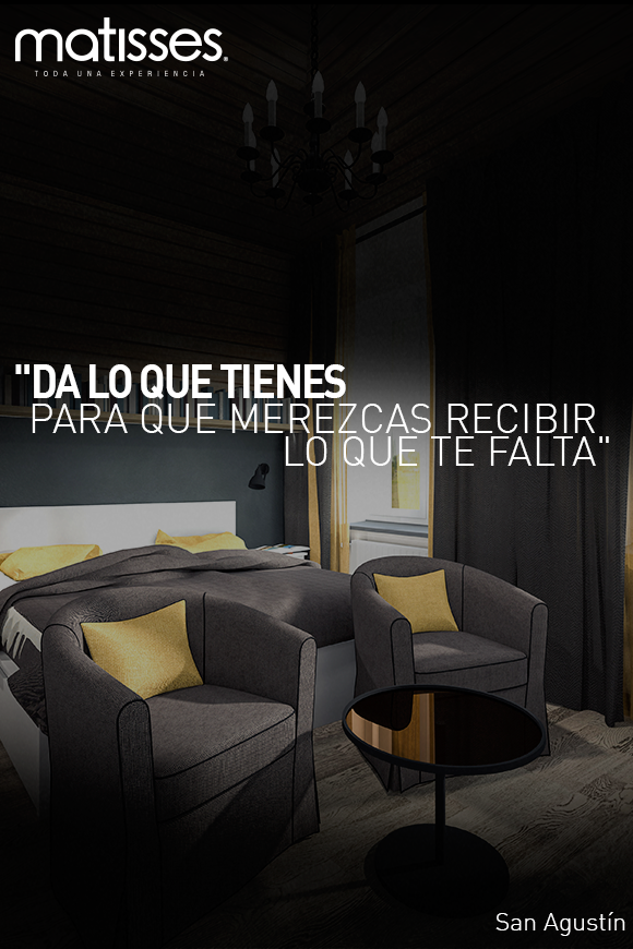 """#FraseDelDía: """"Da lo que tienes para que merezcas recibir lo que te falta"""" San Agustín"""