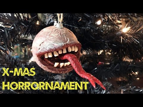 horrornament 2 horror ornament tutorial with teeth and tongue
