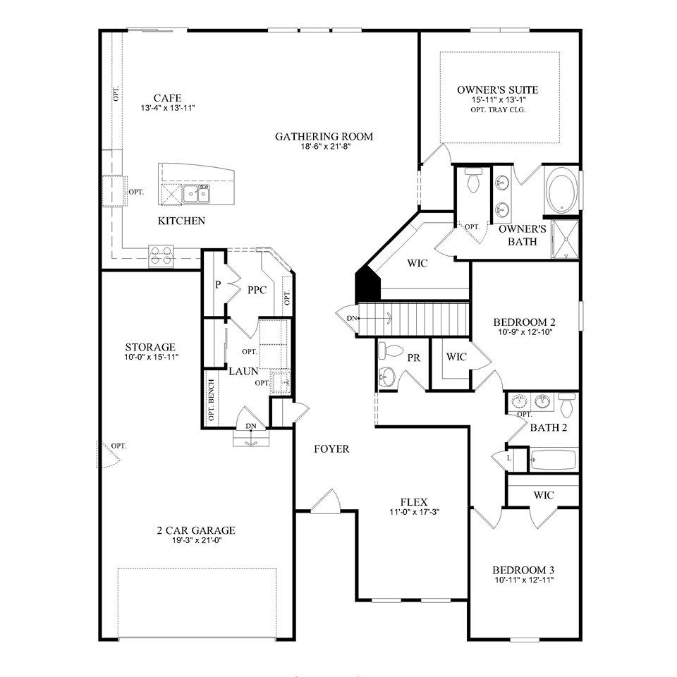 Pulte Homes Floor Plans