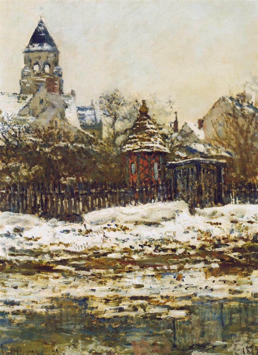 Vetheuil, The Church in Winter, 1879 Claude Monet ✏✏✏✏✏✏✏✏✏✏✏✏✏✏✏✏  ARTS ET PEINTURES - ARTS AND PAINTINGS  ☞ https://fr.pinterest.com/JeanfbJf/pin-peintres-painters-index/ ══════════════════════  Gᴀʙʏ﹣Fᴇ́ᴇʀɪᴇ BIJOUX  ☞ https://fr.pinterest.com/JeanfbJf/pin-index-bijoux-de-gaby-f%C3%A9erie-par-barbier-j-f/ ✏✏✏✏✏✏✏✏✏✏✏✏✏✏✏✏