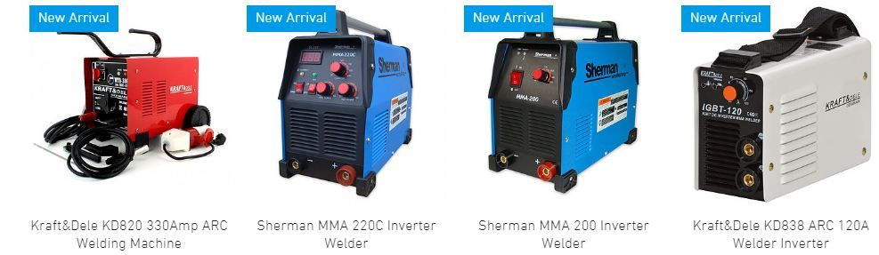 Gray Eagle Shop Offers So Many Different Inverters Including Sherman Welder Inverter At A Very Reasonable Price Ne Arc Welders Mig Welding Machine Mig Welder