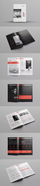 Company Profile Template InDesign INDD A4 | Company Profile ...