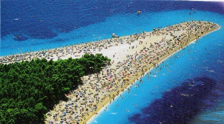 Golden Horn Beach Croatia Europe Beautiful Places On Earth