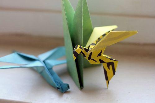 Wood And Zinc Akira Yoshizawa Or Origami Master Origami