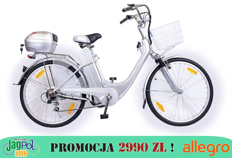 Rower Elektryczny 26 Jagpol Silnik 250w 36v 7700834262 Oficjalne Archiwum Allegro Bicycle Moped Motorcycle