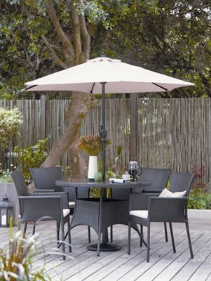 panama 4 seater garden furniture set homebase