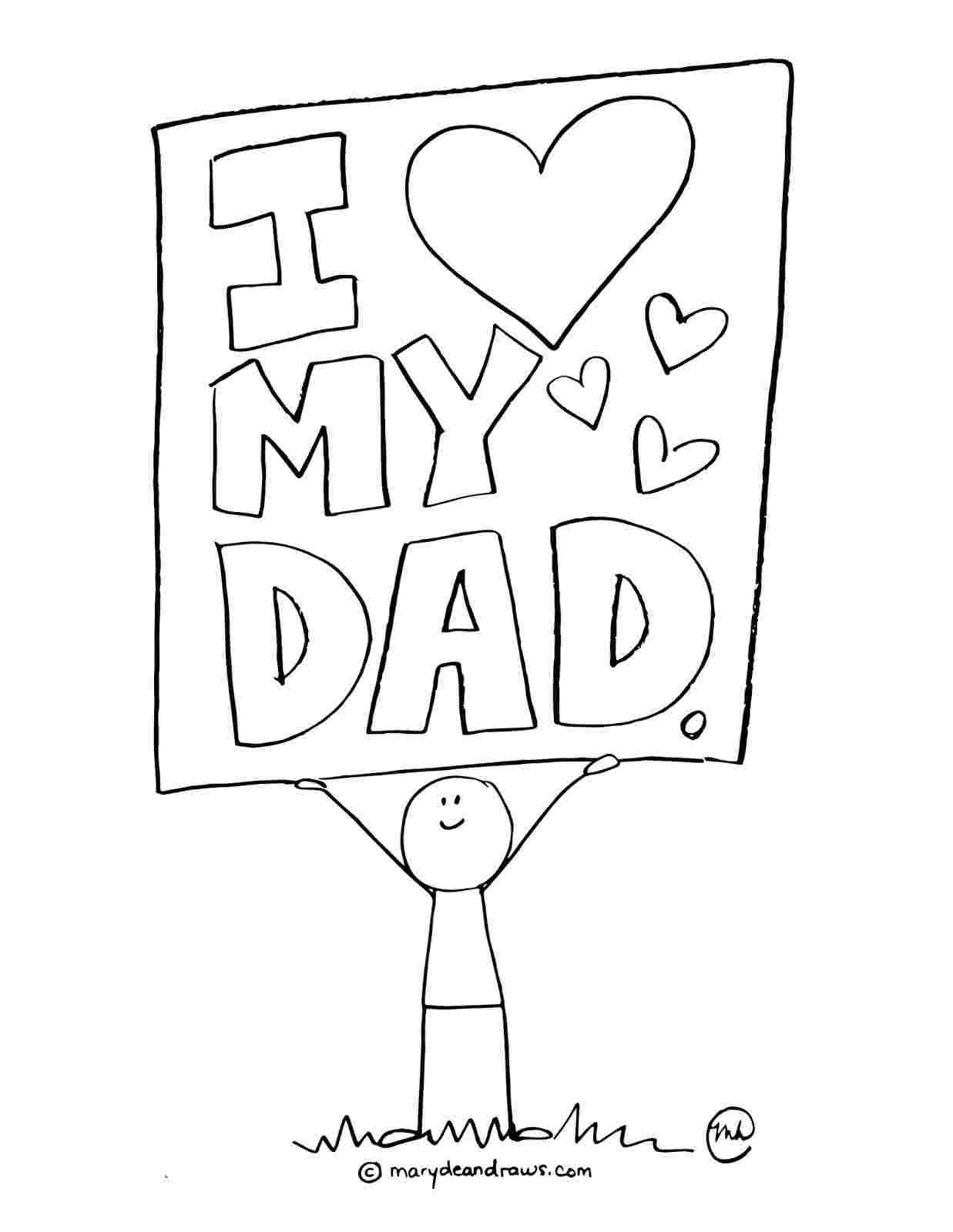 Pin by HandicraftUniverse on Father's Day Cards Coloring