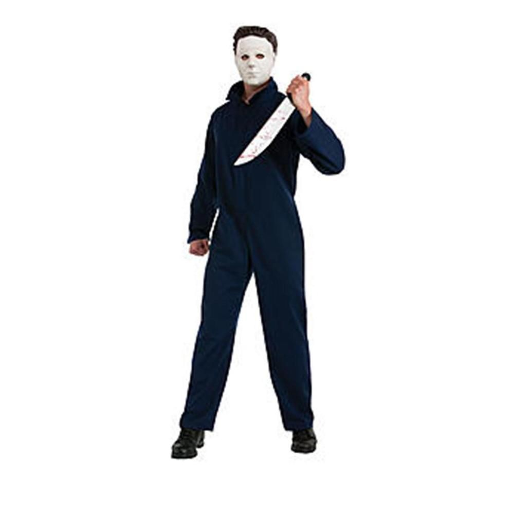 Deluxe Michael Myers Halloween Costume Polyester Easy To Clean ...