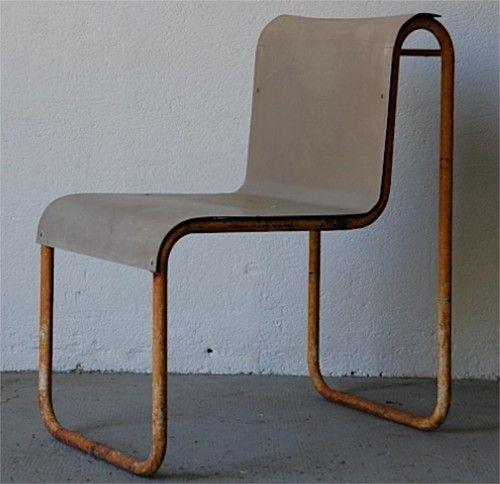 Bauhaus Look Stoelen.Designbinge Chaise Design Moderniste Periode Rietveld Bauhaus