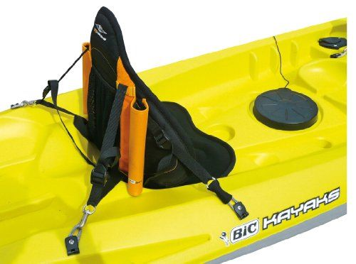 Bic Deluxe Fishing Kayak Backrest Intergrated Rod Holders Turn