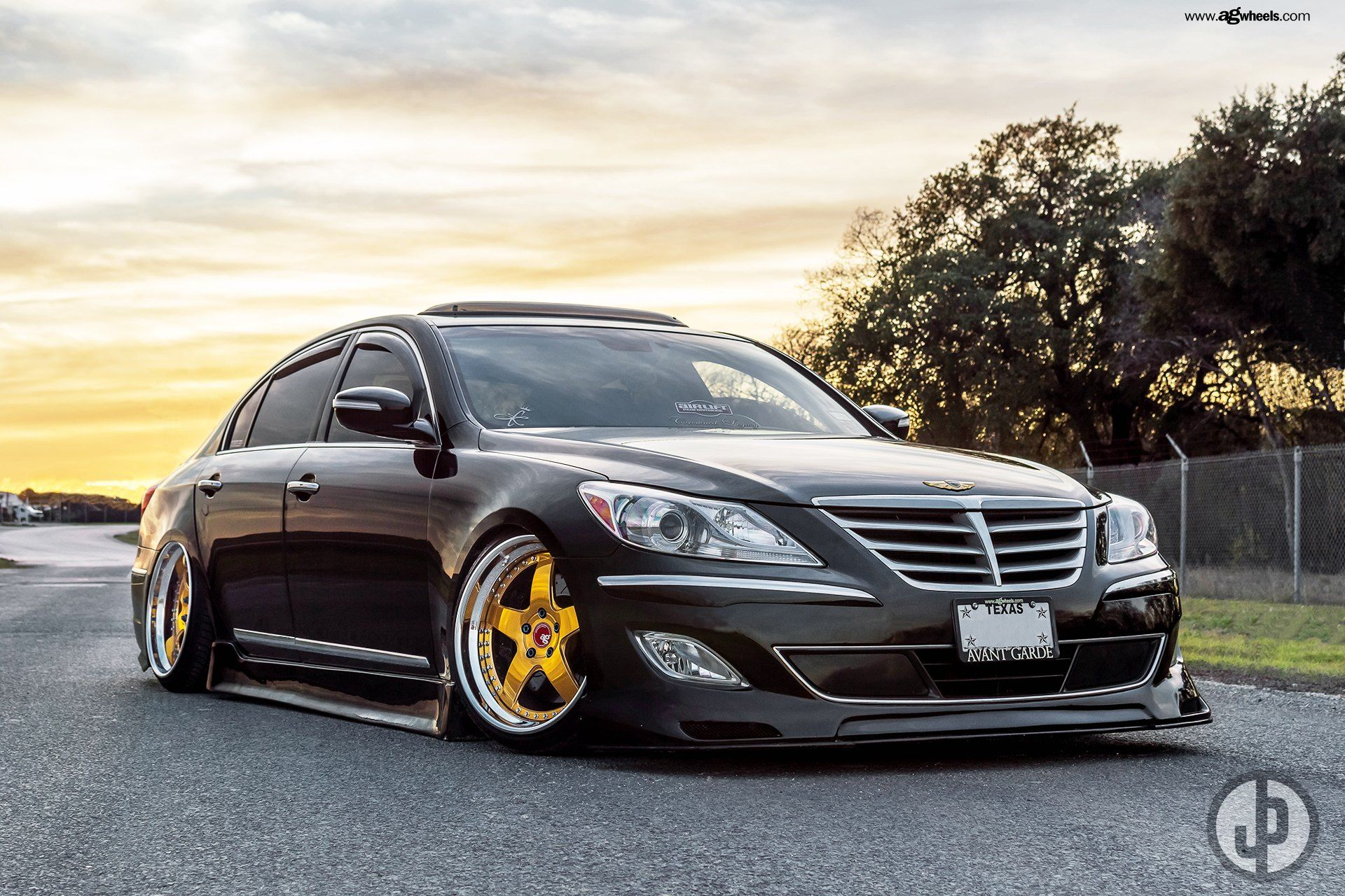 Rate this customized stanced Hyundai Genesis on a scale