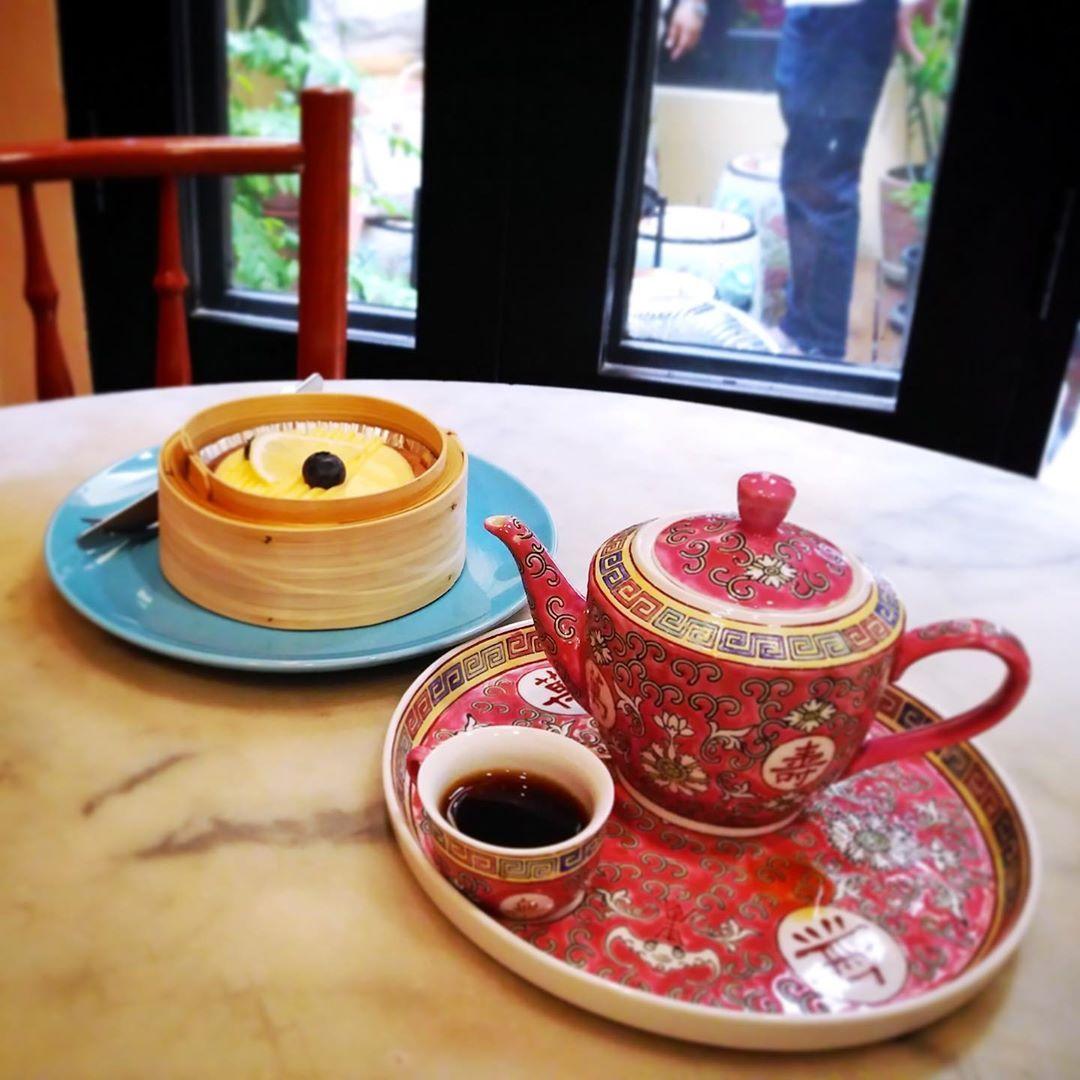กาแฟกับทาร์ตนะ.. มิใช่ชาจีนกับซาลาเปา.. Guetemala Coffee & Lemon Tart..