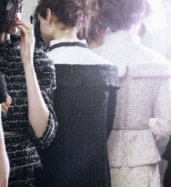 Paris Haute Couture Fashion Week: Chanel Spring Summer 2013 Behind The Scenes Pictures | Grazia Fashion