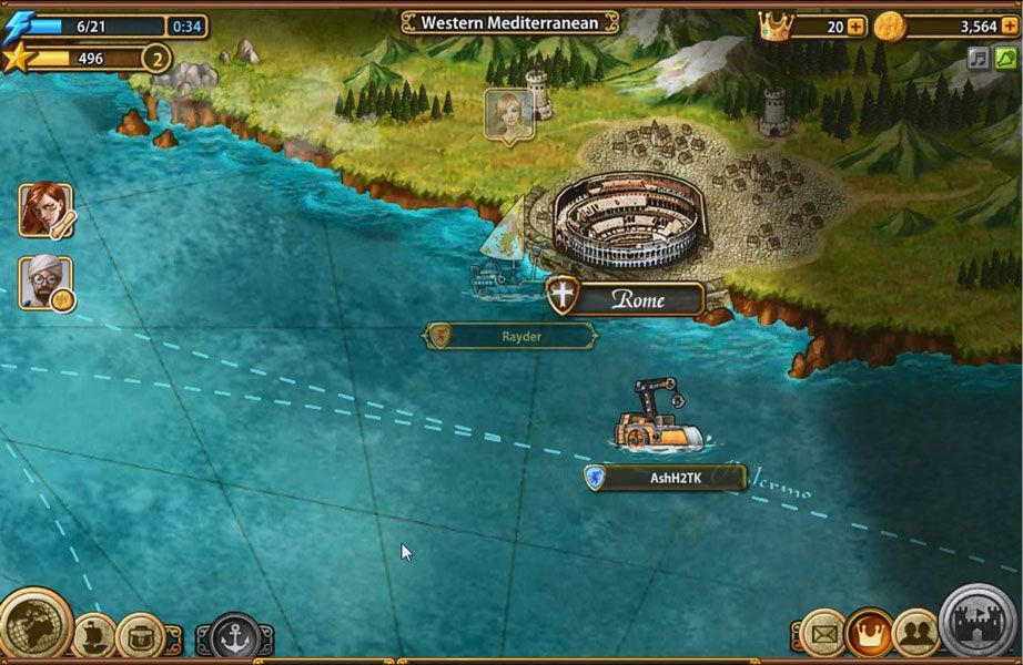 Invincible armada is a massively multiplayer online mmo
