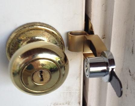 Calslock With Key Locking Device Calslock Door Locks Travel Lock Temporary Door