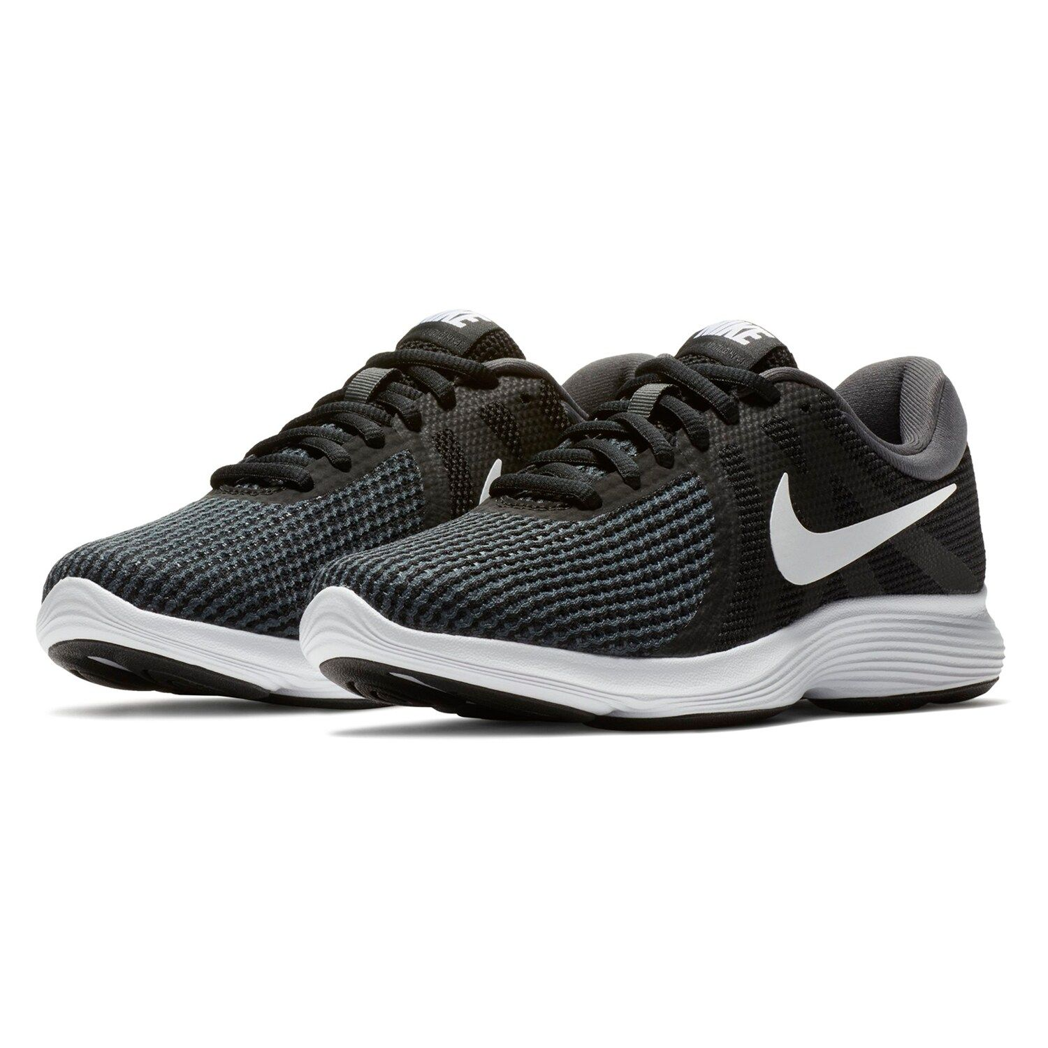 nike revolution 4 women's running shoes black