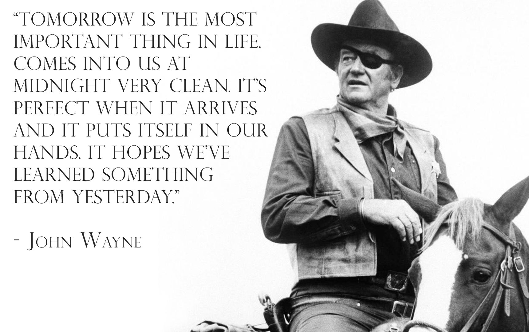 Did you know that the famous John Wayne converted to Catholicism shortly before his death? #DidYouKnow #catholic #Conversion —— ¿Sabías que el famosísimo John Wayne tuvo su conversión poco antes de morir? #Catolico #JohnWayne