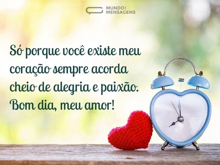 Tag Mensagem De Bom Dia De Amor Para Whatsapp