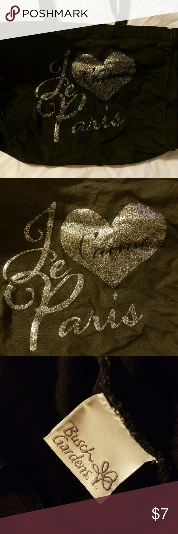 Je t\'aime Paris tote bag from Busch Gardens | My Posh Picks ...