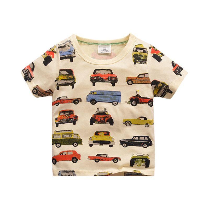 SUCES Baby Jungen T-Shirt Sommer Kurzarm Dinosaurier Print Tops T-Shirt Kleinkind Shirt Bequem Sweatshirt Beil/äufige Hemd Baby Geschenkset