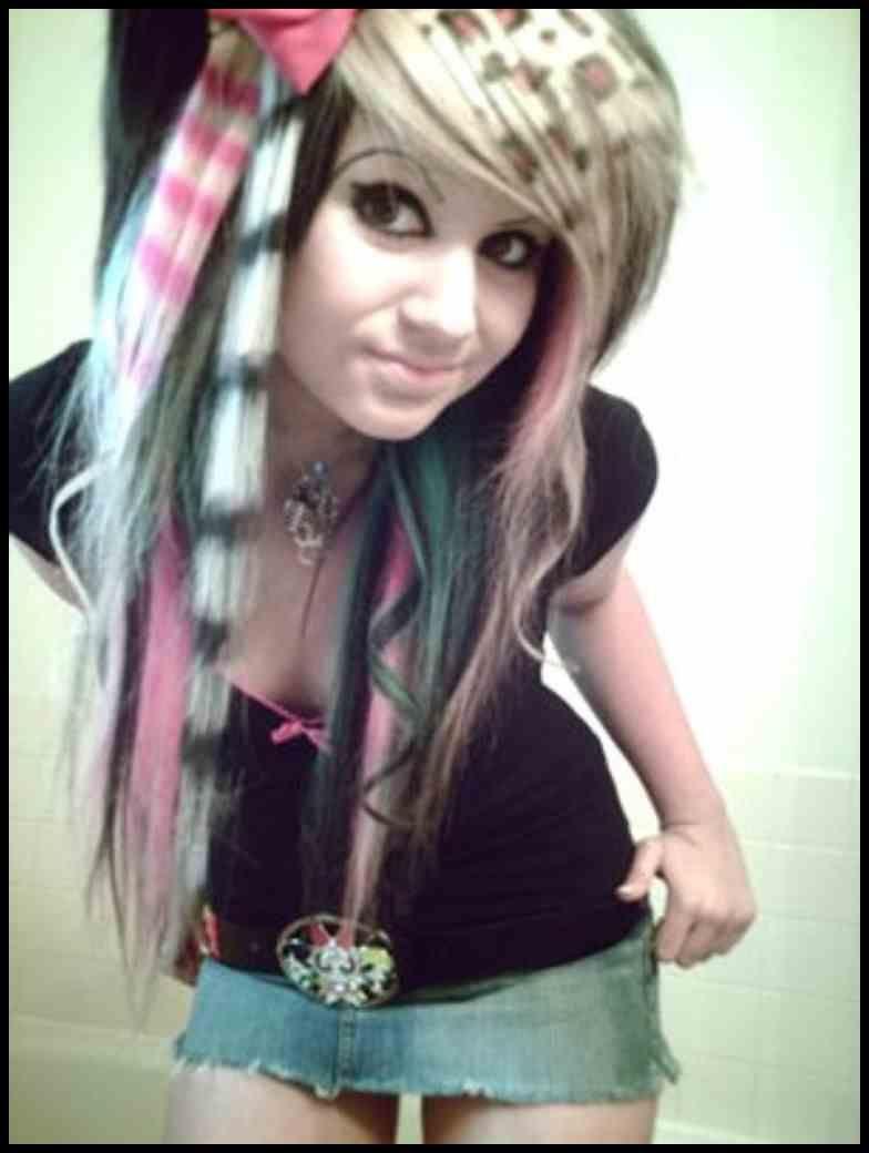 emo haarschnitte - haarstyling   haar styling, haarschnitt