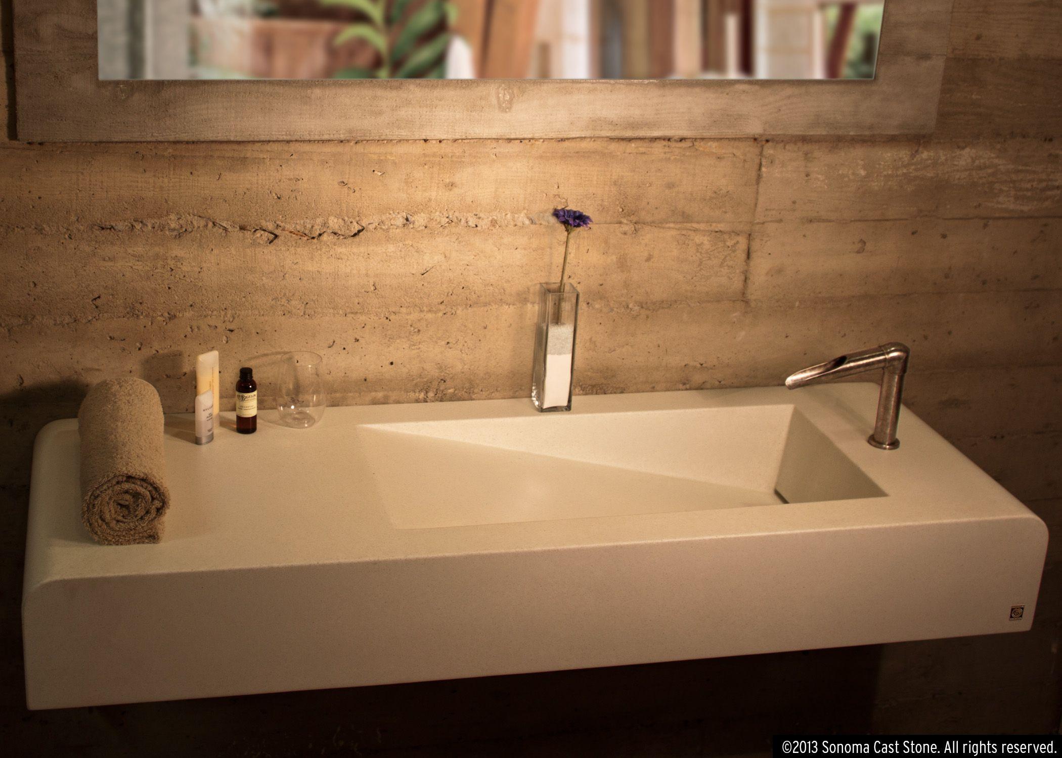 Concrete Sinks And Countertops For Public Restrooms Concrete