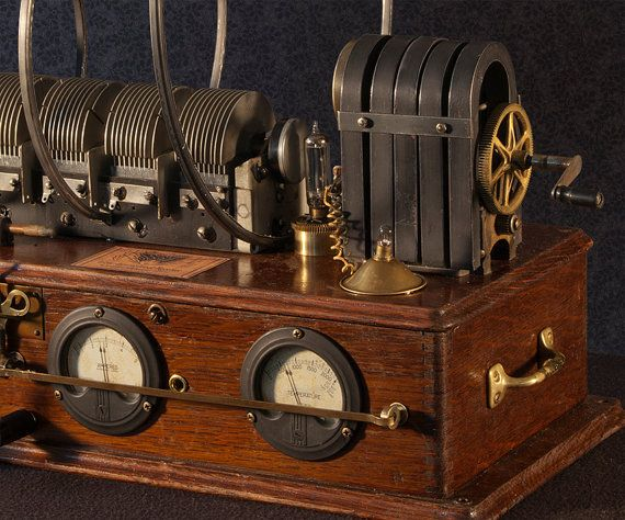 Steampunk invention device for listening in on by TheArtOfSpirit