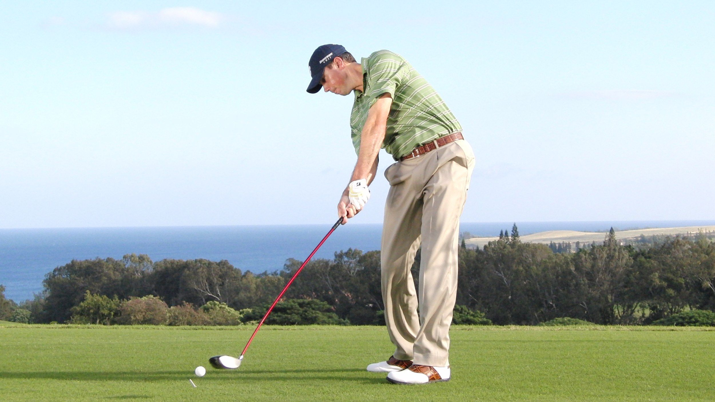 This Is What You Should Think Right Before You Hit Golf