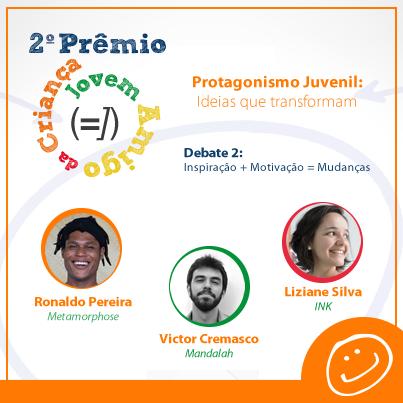 Participação do gsa 2011 Ronaldo Pereira no 2o Prêmio Jovem Amigo da Criança da Abrinq.