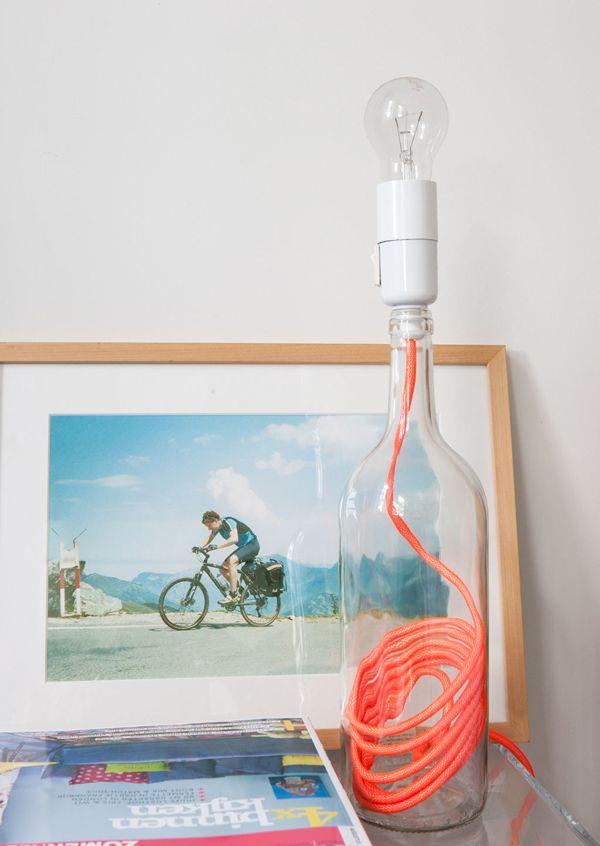 pin von monne vettjer auf lampen und leuchten selbst gemacht pinterest lampen und leuchten. Black Bedroom Furniture Sets. Home Design Ideas