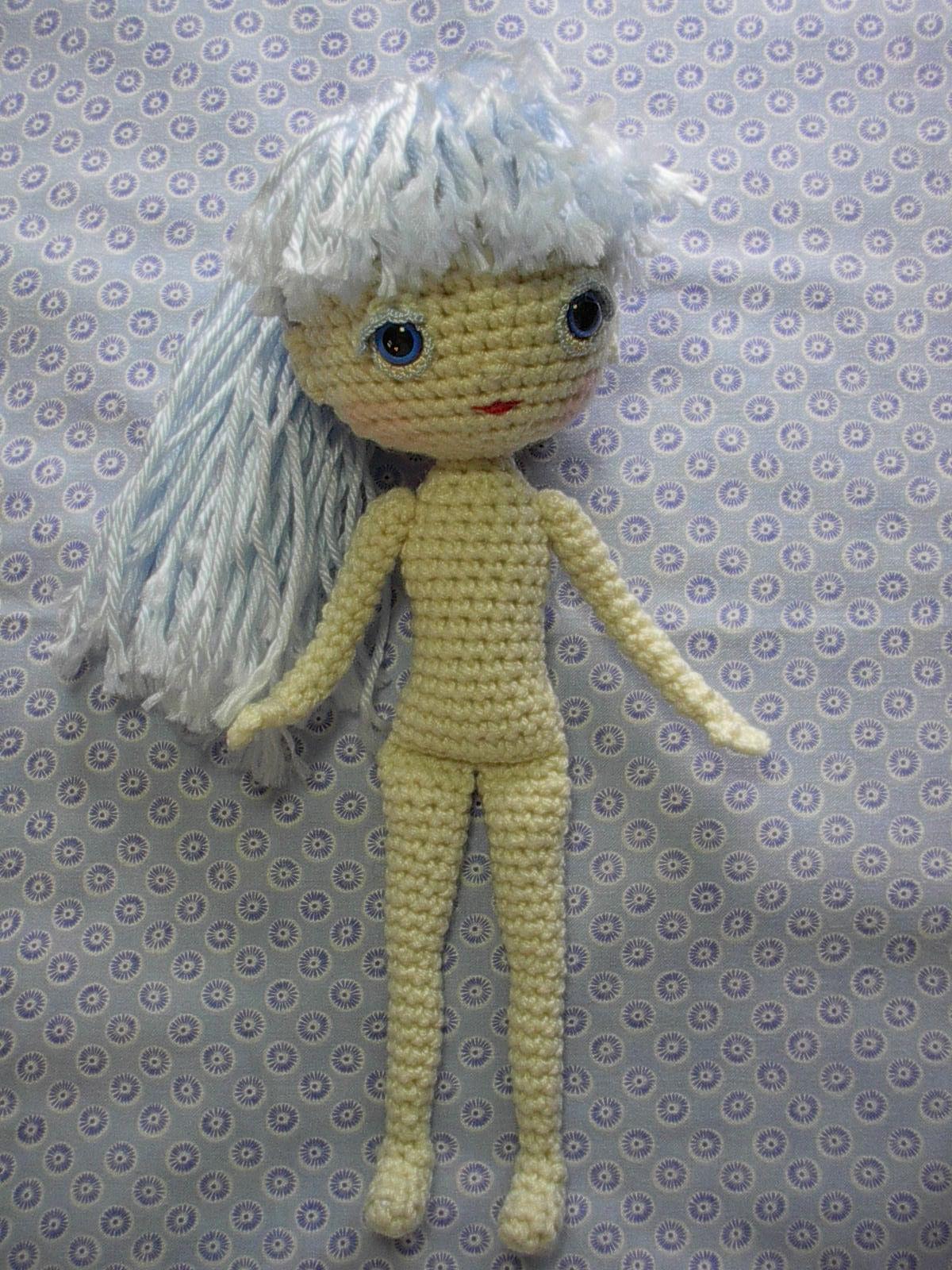 Molly Crocheted Amigurumi Doll [FREE Crochet Pattern] | 1600x1200