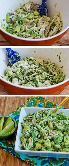 Chicken and Avocado Salad with Lime and Cilantro (VIDEO) Chicken and Avocado Salad with Lime and CilantroChicken and Avocado Salad with Lime and Cilantro