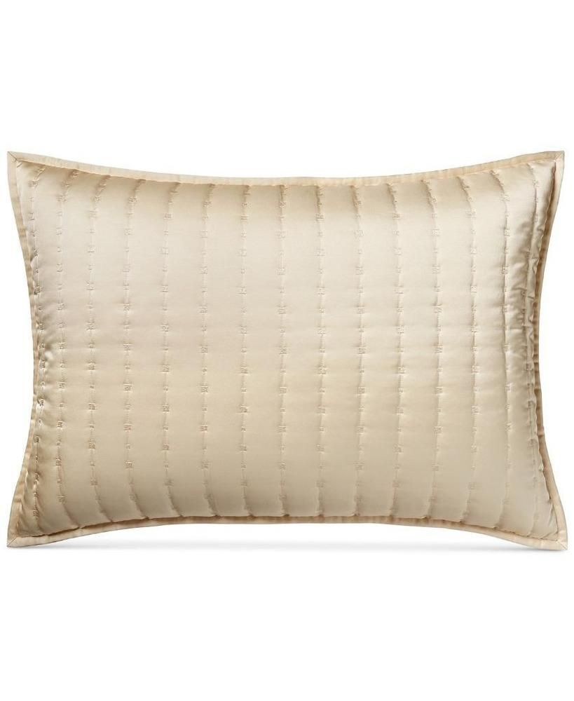 Hotel Collection Patina Quilted Gold King Sham At Macy S 135 Hotelcollection Contemporary Hotel Collection Pillow Shams Sham