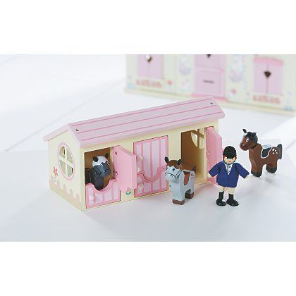 George Home Stable And Horse Set Ava Lilly Horse Stables