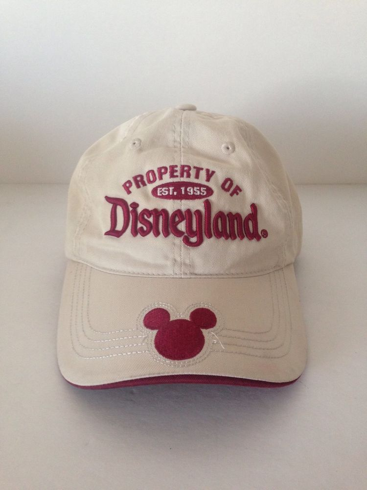 disneyland 60th anniversary baseball cap paris resort property hat cotton one size