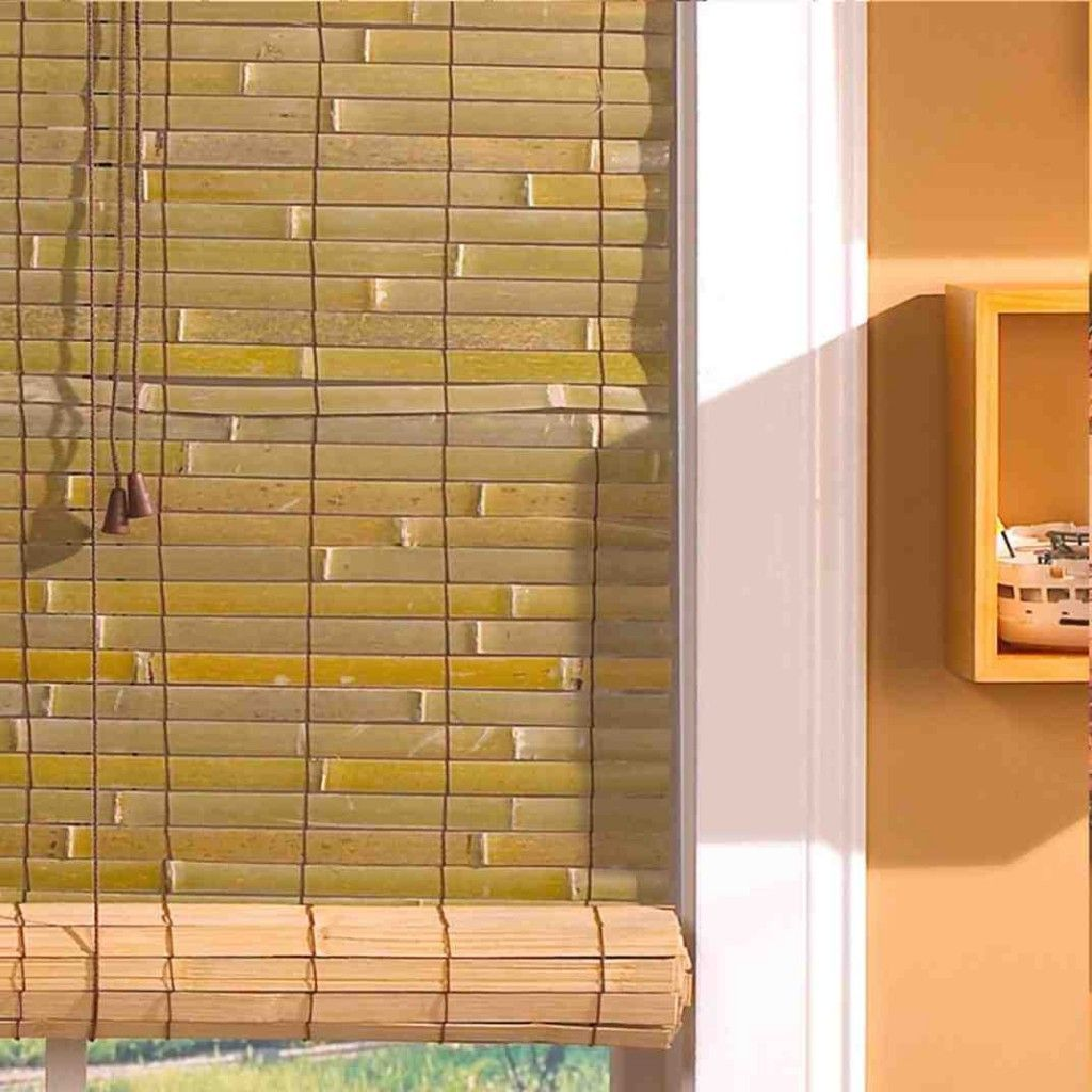 Outdoor bamboo roll up blinds blindsandcurtainsawesome
