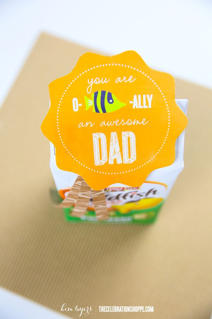 Get creative and give dad\'s Father\'s Day gift with this fun O-Fish ...