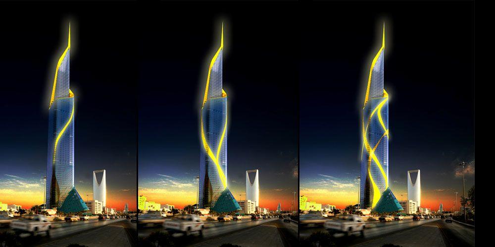 Riyadh L U C L Fas Alhokair Tower 354m Page 6 Tower Riyadh Building