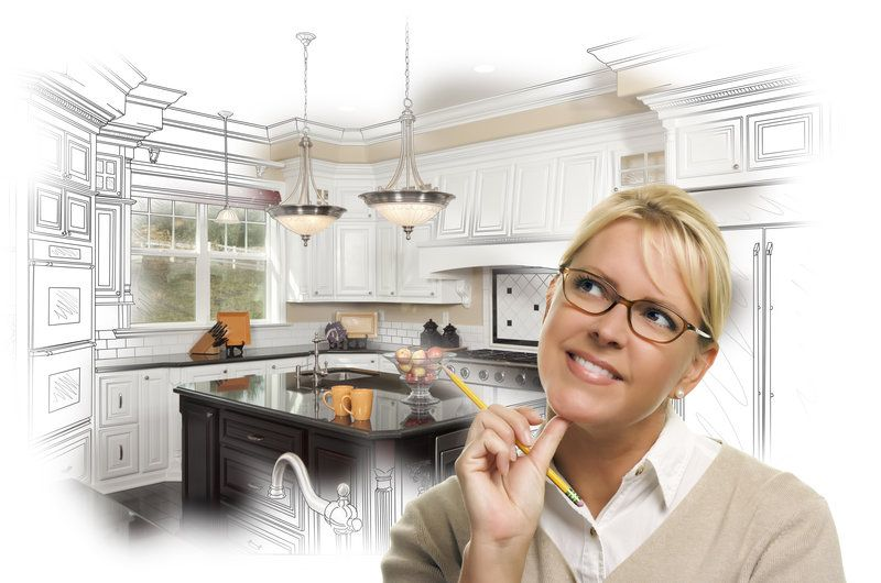 Going to a kitchen showroom can give you inspiration for your kitchen remodel.