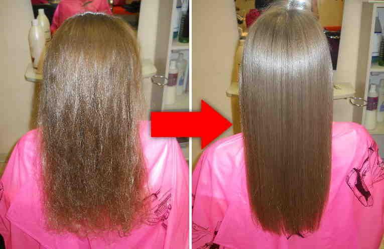 La queratina (keratina) casera para el cabello es un remedio económico y  más popular para tener una melena más sedosa 925b4c4fb103