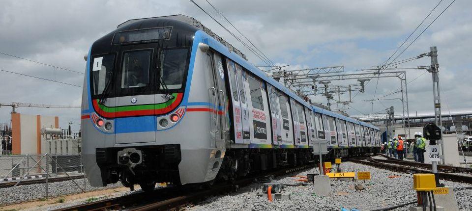Hyderabad Metro Rail Patronage Touches 20 Million   Indian