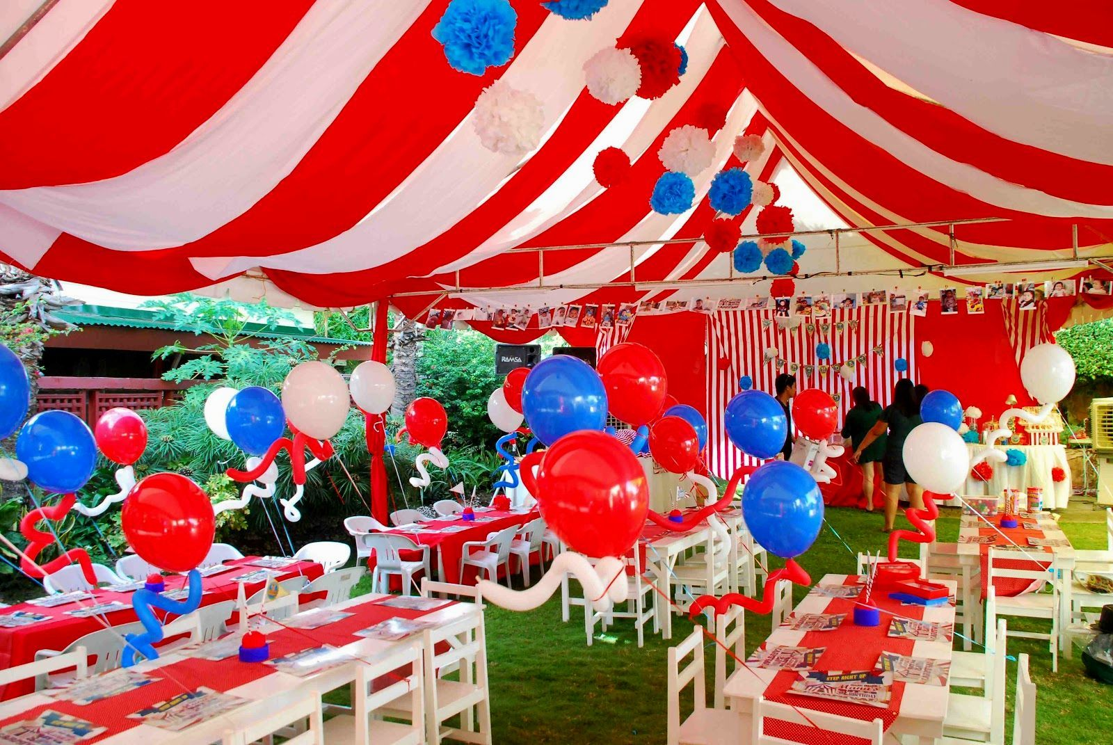 carnival theme party decoration ideas